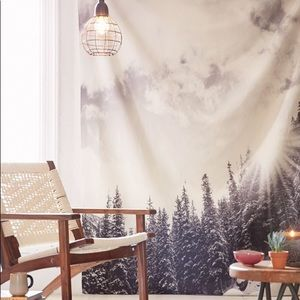 DENY Designs Bird Wanna Whistle Mountain Tapestry